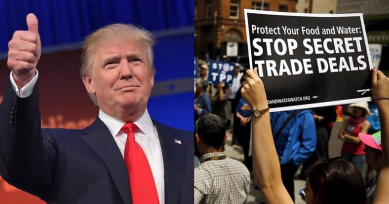Image result for trump's tpp withdrawal