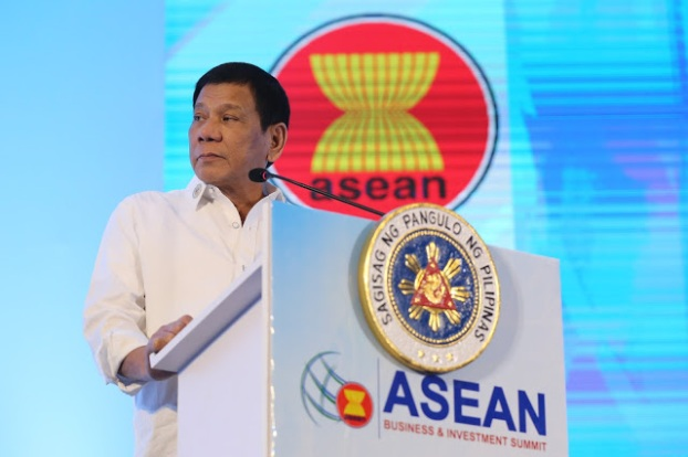 Image result for Duterte at ASEAN April Summit Meeting