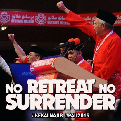 Image result for A confident Najib