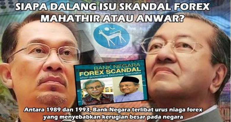 Mahathir forex scandal