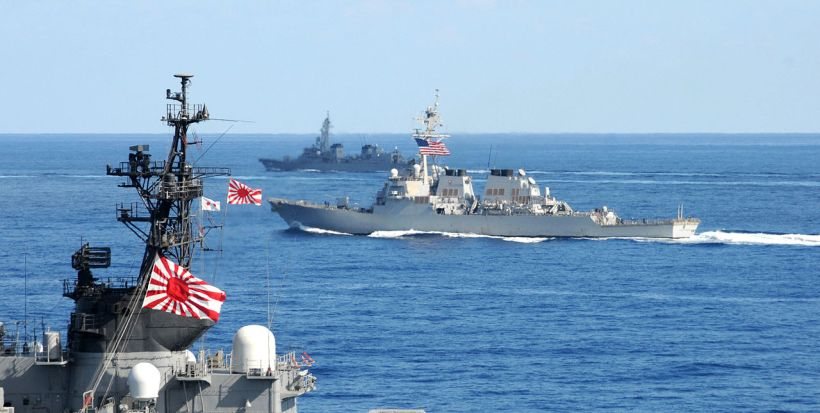 Image result for Japanese Navy in south china sea