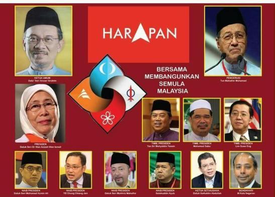 Image result for Mahathir and Anwar in Pakatan Rakyat