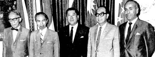 Image result for Founding Fathers of ASEAN