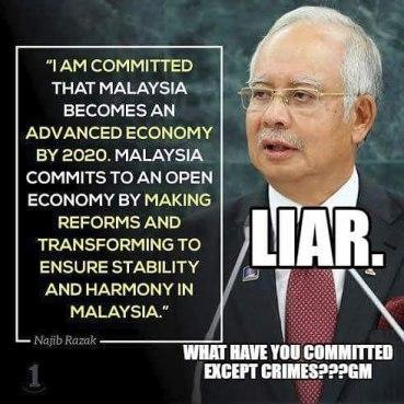 Image result for Najib the Liar