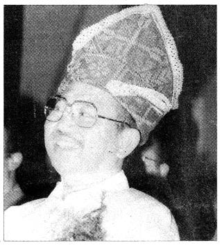 Image result for Tengku Razaeigh Hamzah in Christian Head gear