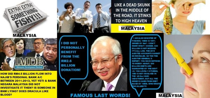 Image result for I am not a crook Najib