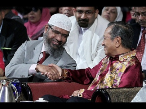 Image result for Naik and Mahathir