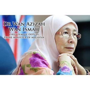 Image result for Malaysia's First Female Deputy Prime Minister