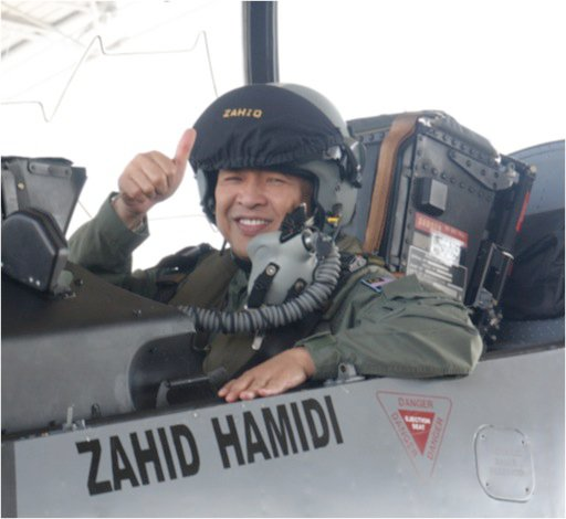Image result for zahid hamidi as pilot